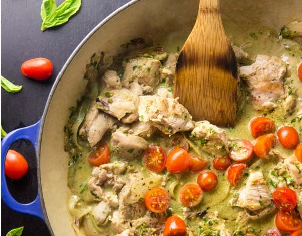Creamy Basil Chicken