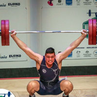 Brandon Accardi - National Champion Weighlifter