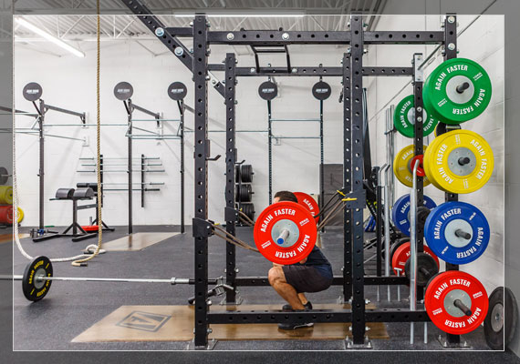Custom Gym Equipment - Rigs and Barbells
