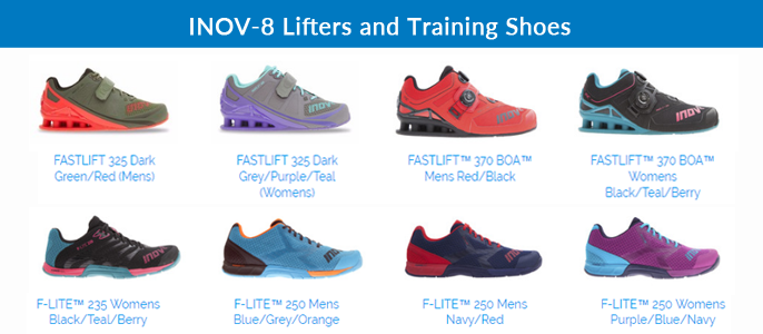 INOV-8 Weightlifting Training Shoes