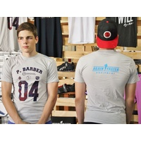 T-Shirt - Pat Barber Signature M - White (S)