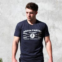 T-Shirt - Cross Barbell MMVI Navy