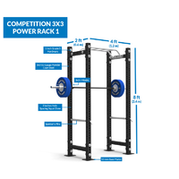 Competition 3x3 Power Rack 1