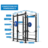 Competition 3x3 Power Rack 3