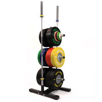 Bumper and Barbell Storage Tree