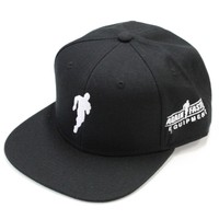 Hat - Running Man Snapback (Black)