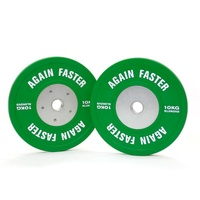 DEMO - Competition Bumper Plates 10 KG Pair