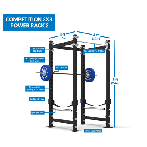 Competition 3x3 Power Rack 2