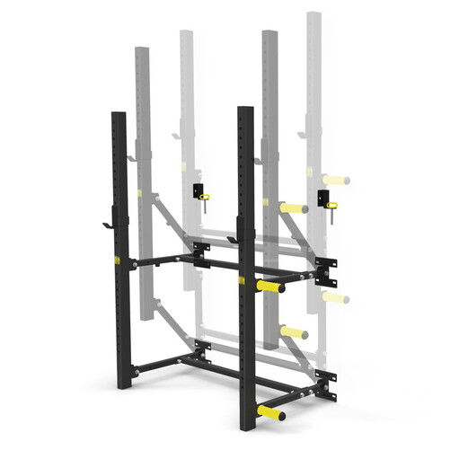 Wall Mounted Fold Up Squat Rack