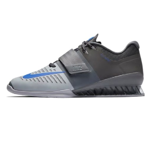 Romaleos 3 Lifting Shoe Grey/Blue M 8.5 US / W 10 US