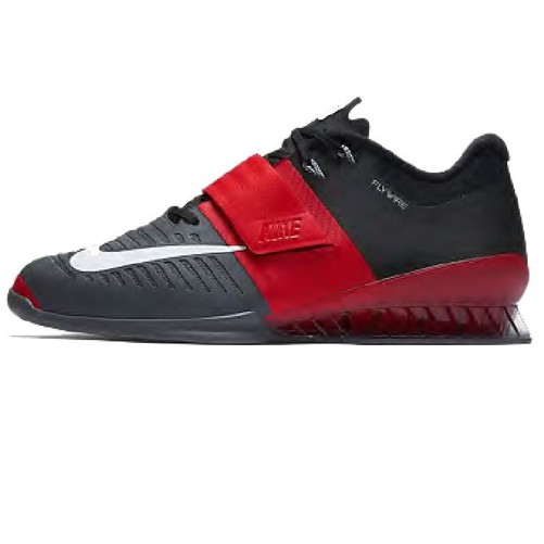 Romaleos 3 Lifting Shoe Red/Grey [Colour: Red/Grey] [Shoe Size: M 10 US]