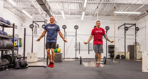 AgainFaster Speed Ropes for CrossFit WOD