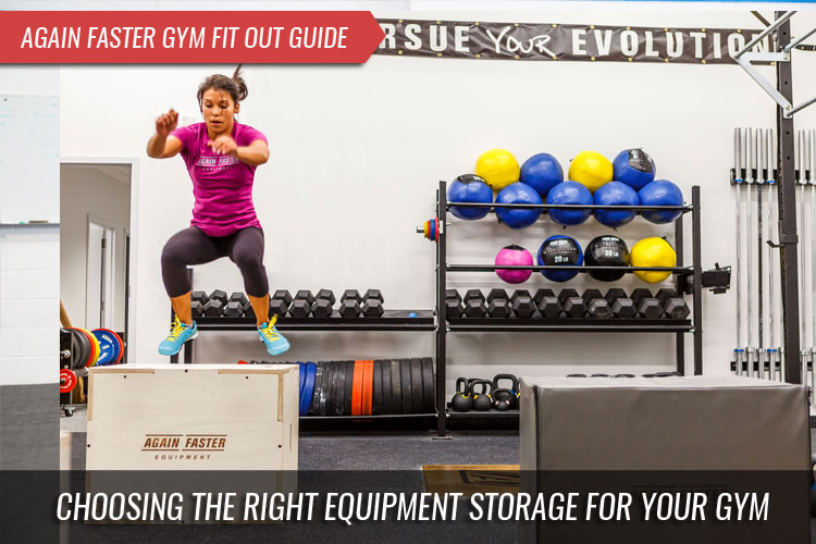 Gym Fitout Guide - Choosing the right equipment Storage for your Gym