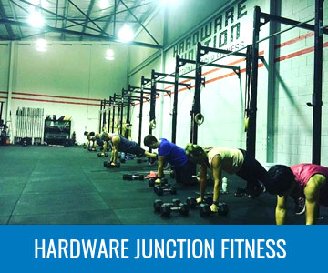 HARDWARE JUNCTION FITNESS -  AGAIN FASTER GYM FITOUTS