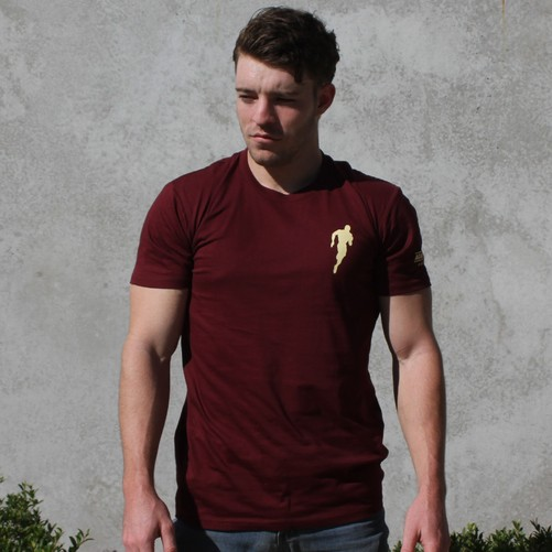 T-shirt - Vee Evolution (Men's) - Maroon