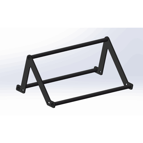 Team 50x80 Rig Triangle Pull Up Bar - SM
