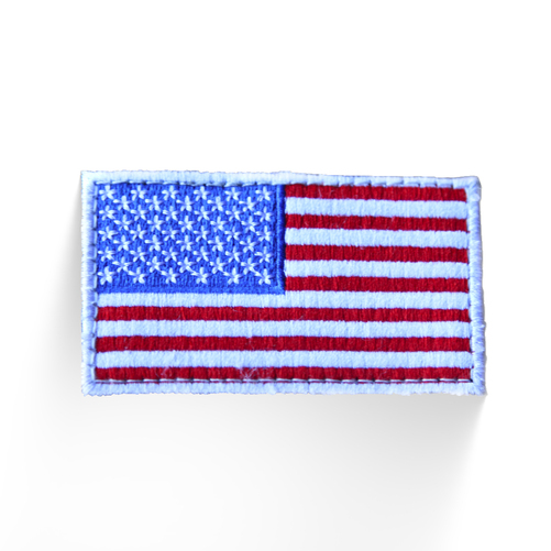 Tactical Weight Vest Patch - USA Flag