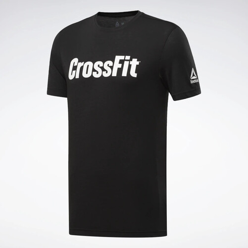RC CrossFit Read Tee Black/White