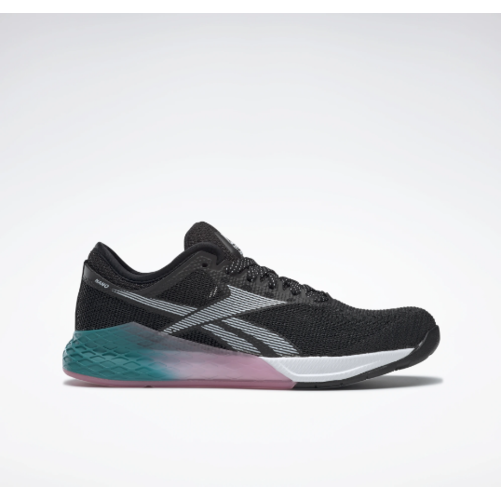 Reebok Nano 9 Women's - Black/Seaport Teal/Posh Pink