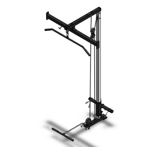 Lat and Row Attachment for our Home Power Rack