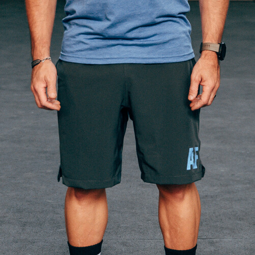 Men's AF Logo Evolution Speed Short Charcoal