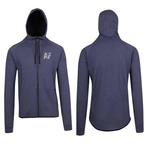 Women's Polar Hoodie - AF Logo (Navy Heather)